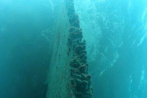 Underwater-rudder-repair