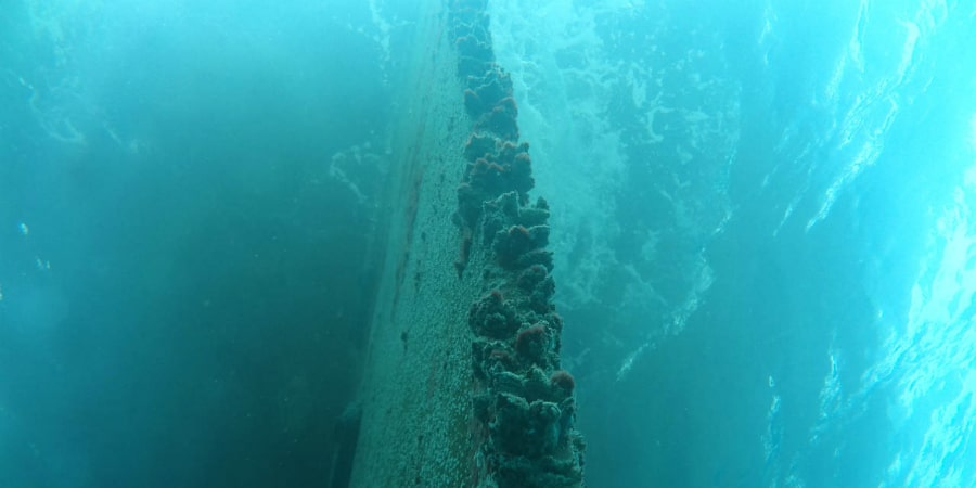 Underwater-rudder-repair