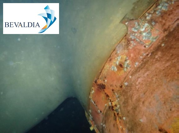 Underwater inspection Istanbul, Turkey BEVALDIA PSOMAKARA