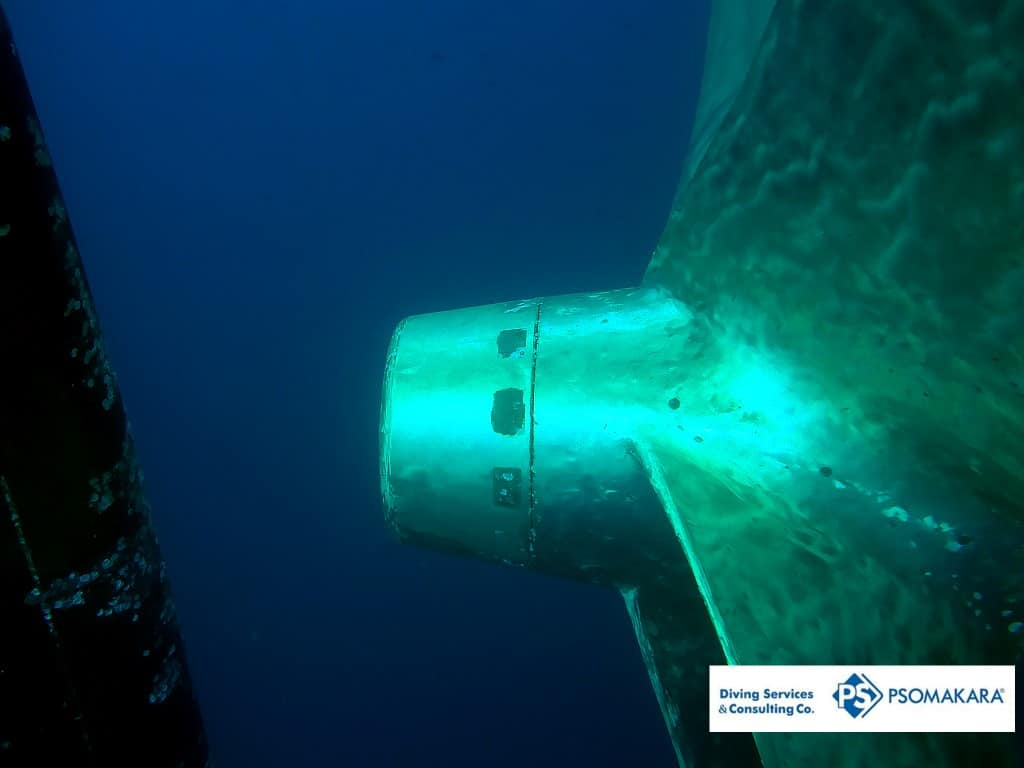 Underwater-propeller-polishing
