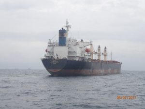 Underwater (UW) Hull Cleaning & Propeller polishing Case Study of Star Theta at Lome anchorage