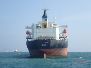 Underwater Hull Cleaning Case Study of Zilos at Lome anchorage