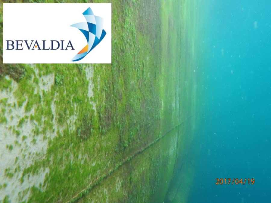 Underwater hull cleaning Piraeus, Greece BEVALDIA