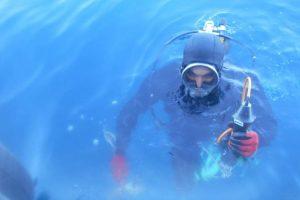 Underwater ultrasonic measurements