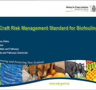 Vessels Arriving to New Zealand – Craft Risk Management Standard Doc