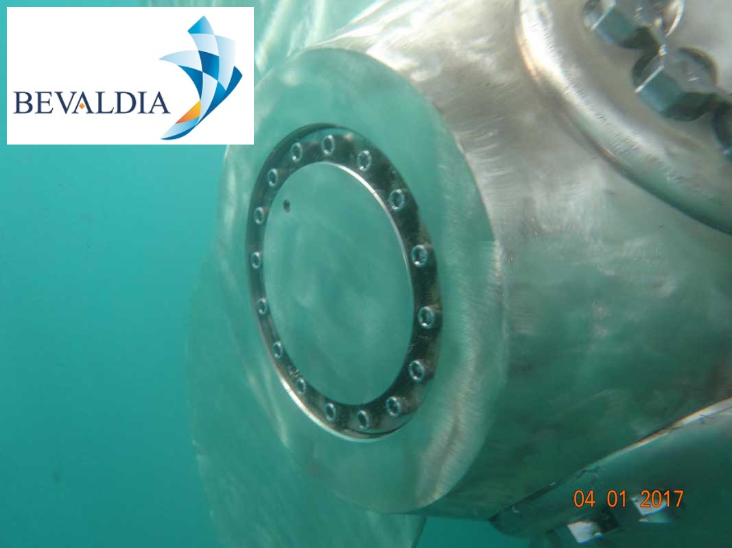 Underwater hull cleaning Nea Karvali, Greece BEVALDIA