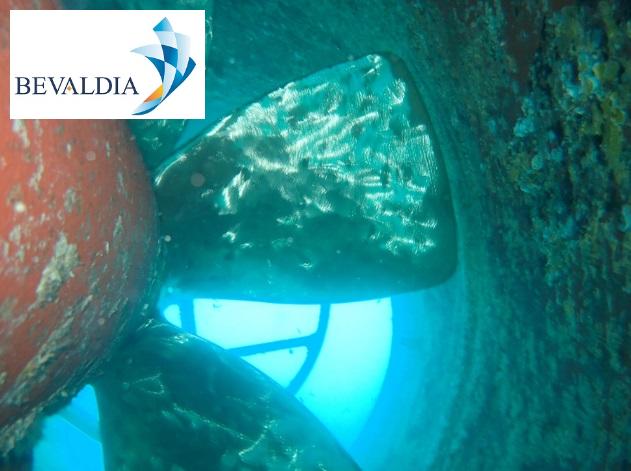 Underwater bow thruster cleaning Lome, Togo BEVALDIA PSOMAKARA