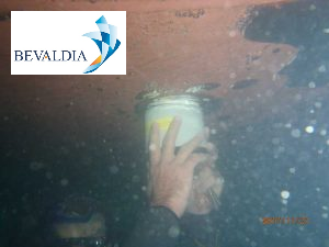 Underwater echo sounder replacement Thessaloniki, Greece BEVALDIA PSOMAKARA