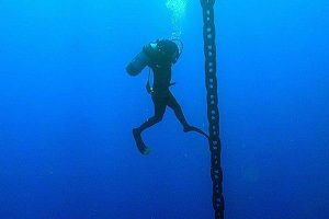 IN WATER ANCHOR CHAIN SEARCH AND RECOVERY (BEVALDIA-PSOMAKARA)