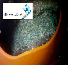 Underwater hull cleaning Tuxpan, Mexico BEVALDIA PSOMAKARA