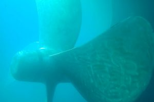 IN WATER HULL CLEANING AND PROPELLER POLISHING AND TAIL-SHAFT AND RUDDER MEASUREMENTS AGIOI THEODOROI, GREECE (BEVALDIA-PSOMAKARA)11