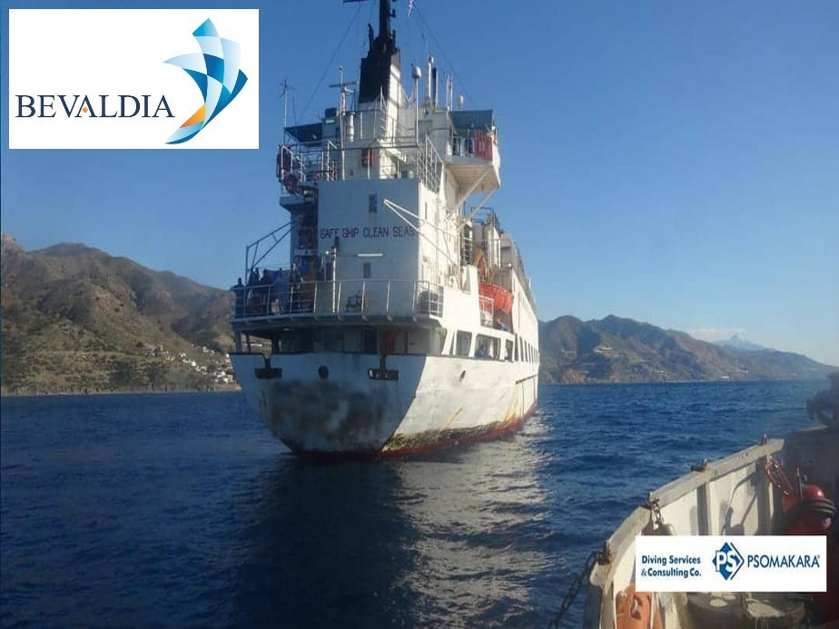 Underwater inspection and waterproofing Kali Limenes, Greece BEVALDIA