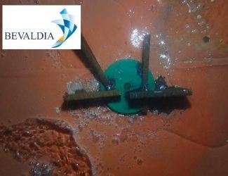 IN WATER ECHO SOUNDER REPLACEMENT IN INSTANBUL TURKEY - (BEVALDIA-PSOMAKARA) 1