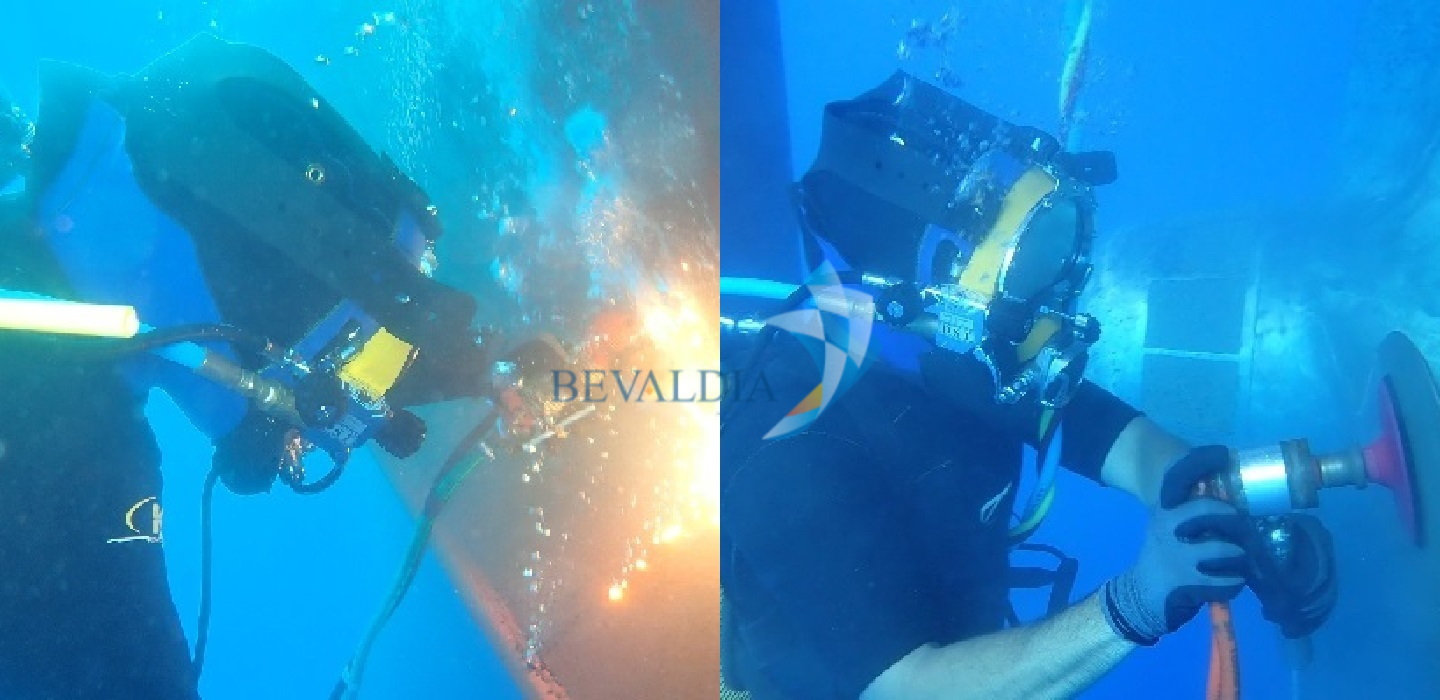 Underwater hull cleaning Lome